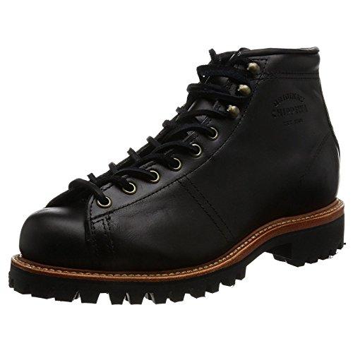 Chippewa Men's Lace-to-Toe Field Boot Round Toe Black 12 E US -