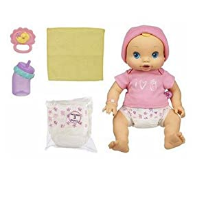 Amazon Com Hasbro Baby Alive Wets N Wiggles Doll Toys