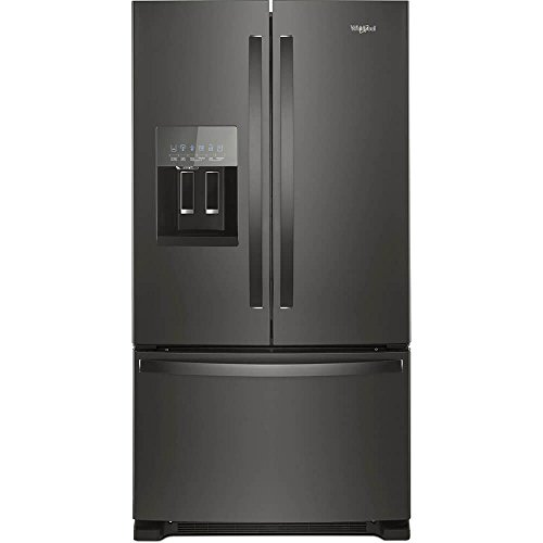 "Whirlpool WRF555SDHV 36"" French Door Refrigerator Fingerprin"
