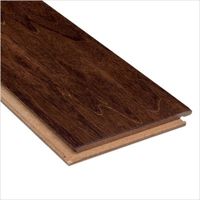 Hardwood 4-3/4' Engineered Moroccan Flooring in...