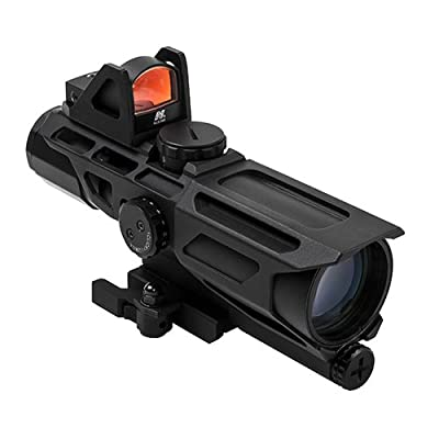 NC Star Ncstar Gen3 Ussx 40mm, 3-9X40Mm, P3 Sniper Reticle with Red Dot, One Size from Green Supply