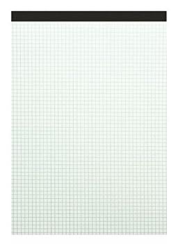 60 g//m/² 50 fogli 10 pezzi Landre 100050633 DIN A4 con fori laterali Blocco senza copertina in carta riciclata