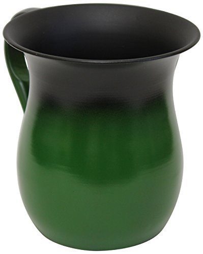 Majestic Giftware Wash Cup Stainless steel Green 5.Inch H - 520 Apex