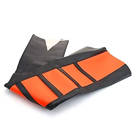 450 250 TOOGOO Motorcycle Striped Soft Soft Grip Seat Cover For Ktm Sx Xc Exc Xc-W Sx-F 85 105 Of 125 150 300 Orange 350 200