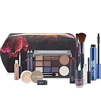 Amazon.com: 13 Piece ULTA Fall Cosmetics Makeup Gift Bag Set Dark ...