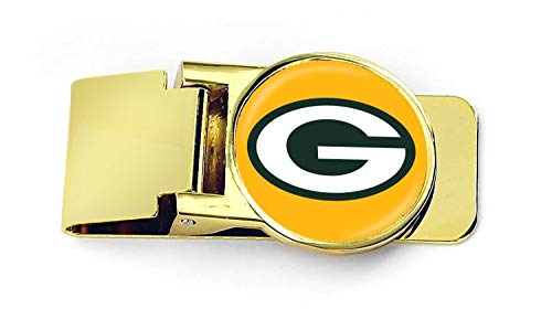 - aminco NFL Green Bay Packers Unisex InternationalNFL Classic Money Clip, Team Color, NFL-MC-709-19G
