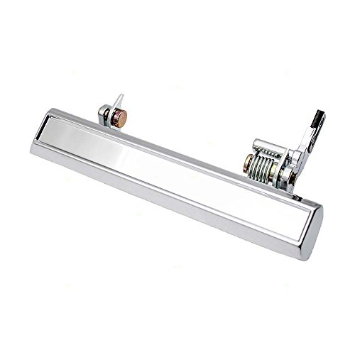 - Drivers Outside Exterior Front Chrome Door Handle Replacement for 70-81 GM Various Models 20099255 20099253 3060797 9827571