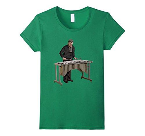 Womens Xylophone Music player TShirt Tee Shirt T-Shirt Me...