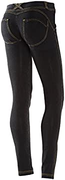 TALLA S. Freddy WR Low Waist Skinny Pantalones Largos, Mujer