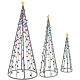 Amazon.com: Northlight 6' Multi-Color LED Lighted Cone ...