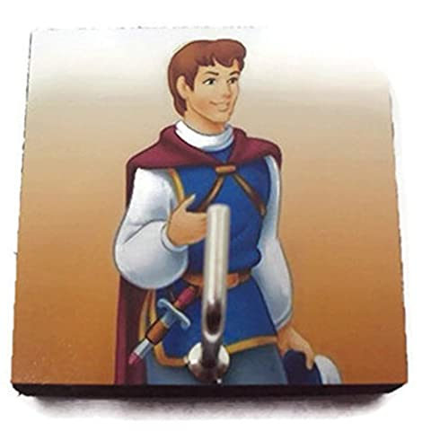 Agility Bathroom Wall Hanger Hat Bag Key Adhesive Wood Hook Vintage Prince Ferdinand of Snow White's - Snow White Pictures