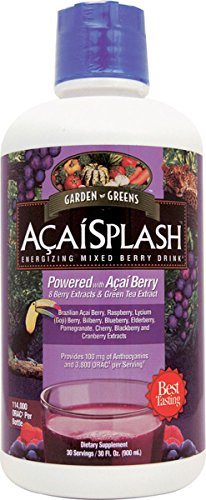 Garden Greens AcaiSplash Energizing Mixed Berry Drink, 32 Ounce Review