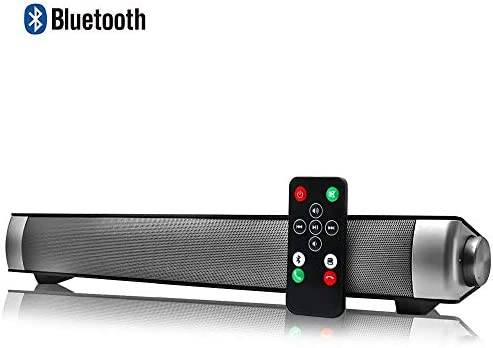 Altavoces Bluetooth PC, Barra de Sonido para TV Mini Soundbar ...