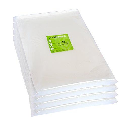 200 Gallon Vacuum Sealer Bags for Food Saver, Seal a Meal Vac Sealers, 11