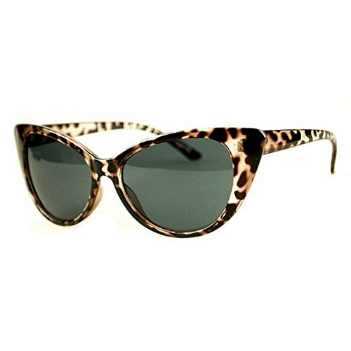 Sol Estampado Leopardo Huyizhi Classic de Cat Sol Party Seaside Gafas Women Steampunk Gafas Vintage Gafas de para de Beach Eye Sol HqRzwHrO