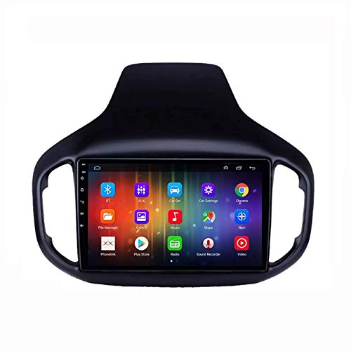 FDGBCF Android 10.0 Car Radio Multimedia Player, for Chery Tiggo 7 2016-2020, with Rear View Camera Supports Mirror Link/DSP/FM AM RDS Radio/1080P Video/Bluetooth/GPS Navigation