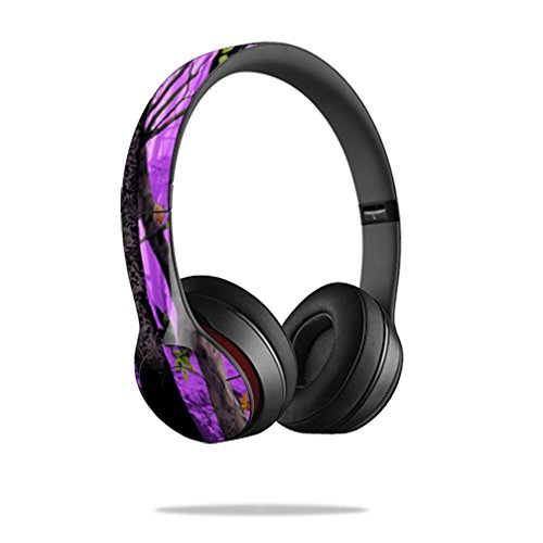 MightySkins Protective Headphones sticker Purple