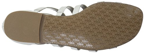 Sam Edelman Women's Berke Sandal Bright White Leather 9F4CDC