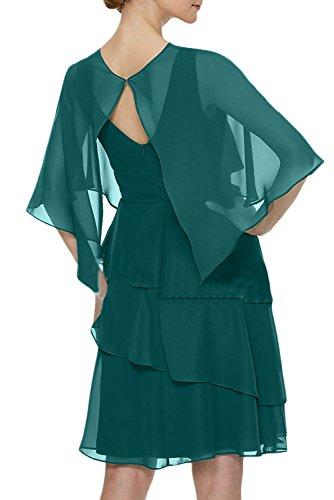 Abendkleid Party Damen Linie Ivydressing Quinceanerakleider Fest Cocktailkleider Hochzeitgast Stolar A Grün Beliebt ZqEnBC