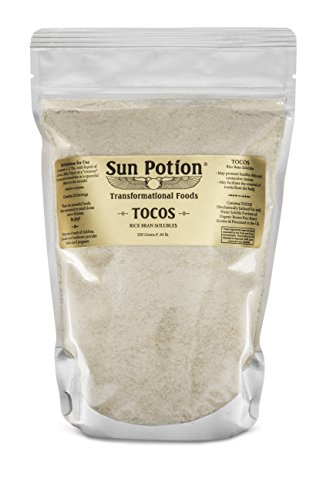 TOCOS Powder 200g by Sun Potion - Organic Rice Bran Solubles - Tocotrienols Ultimate Superfood High in Vitamin E Promotes Healthy Skin Care Connective Tissue and Muscle Function - Raw, Pure, Non-GMO