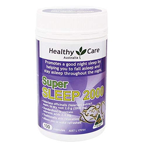 Healthy Care Super Sleep (Valerian 2000mg) 100 Capsules by #Healthy (Image #1)