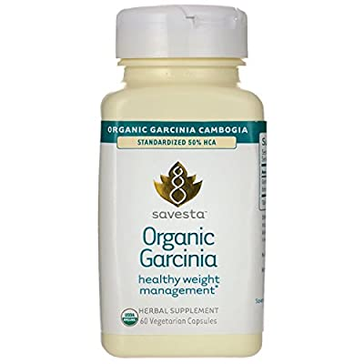 Savesta Organic Garcinia 1,000 mg 60 Veg Caps
