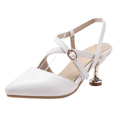 Shoes White Court Women's Strap Cross TAOFFEN PqSfzn