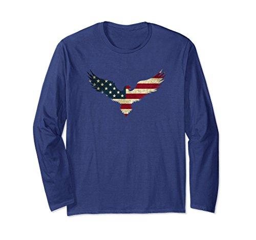 Eagle Flag Adult T-Shirt - 8