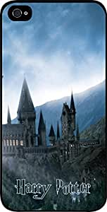 Hogwarts Castle - Hard Black Plastic Snap - On Case-Apple Iphone 5 - 5s - Great Quality!