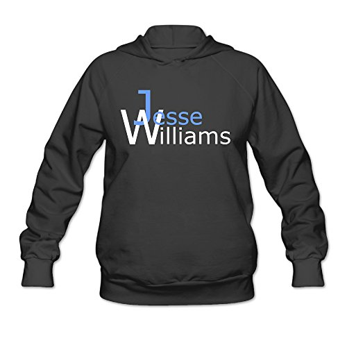 ShowTime Williams Name Women's Performance Hood Black M (Toy Story Girl Name)