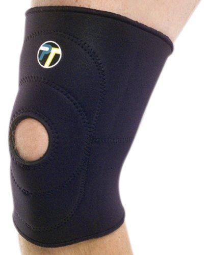 Neoprene Patella Knee Sleeves (Pro-Tec Athletics Open Patella Knee Sleeve (Large))