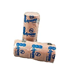 First Voice TS-3664 Latex Free Elastic Bandage, 4-1/2 yds Length x 4\
