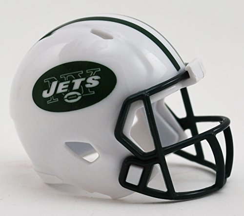 - New York Jets NFL Riddell Speed Pocket PRO Micro/Pocket-Size/Mini Football Helmet