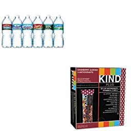 KITKND17211NLE101243 - Value Kit - Kind Llc Plus Nutrition Boost Bar (KND17211) and Nestle Bottled Spring Water (NLE101243)