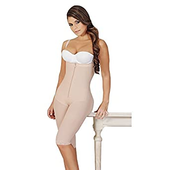 228beec0855 Salome Strapless Liposculpture Girdle with Holes 0527 at Amazon Women's  Clothing store: