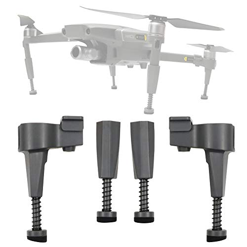 BTG Extended Landing Gear Upgraded Leg Height Extender Kit for DJI Mavic 2 Pro Zoom Drone - with Shock-Absorbing Spring Anti-Damping Extension Stabilizer Parts