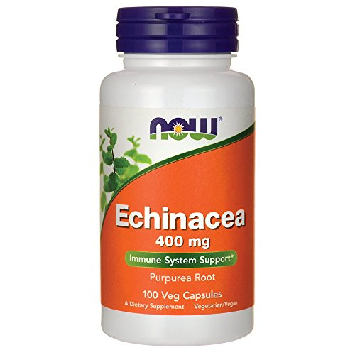 Foods Echinacea - Echinacea Root Purpurea 400mg Now Foods 100 Caps