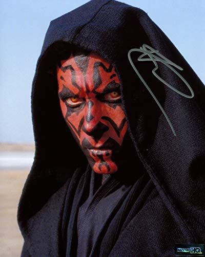Ray Park Signed / Autographed 8x10 Glossy Photo as Darth Maul From Star Wars Episode 1 The Phantom Menace. Includes FaneXpo HQ Certificate of Authenticity. Entertainment Autograph Original. Episode i, Episode one