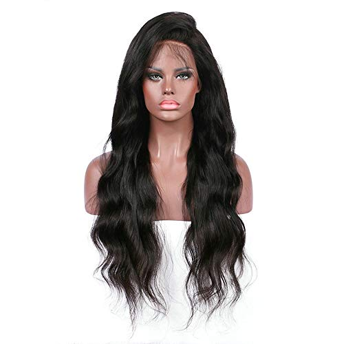 Pro Curly Wig Glueless Full Lace Wigs Black Women Indian Remy Human Hair Lace Front Hair Extensions (Wigs Hair Remy Indian)
