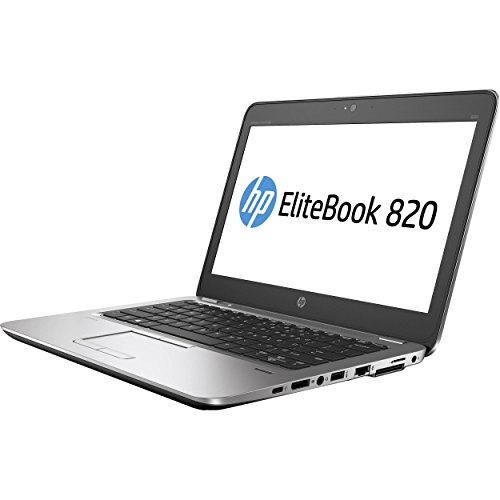 HP EliteBook 820 G3 12.5″ Business Laptop: Intel Core i5-6300U | 256GB SSD | 16GB DDR4 | FHD (1920×1080) | Webcam | Windows 10 Pro (Certified Refurbished)