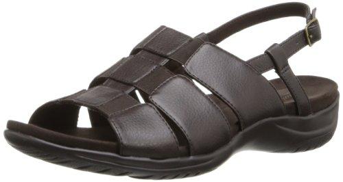 Sandalo Gladiatore Da Donna Easy Street Marrone