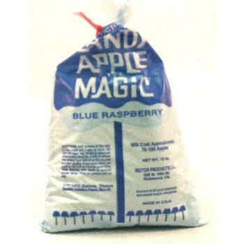 Blue Raspberry Flavored Candy Apple Magic Coating Mix 15 Oz