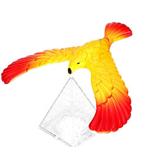 Stebcece Magic Balancing Bird Science Desk Toy w/ Base Novelty Eagle Fun Learn Gag Gift