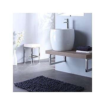 Waschtisch Badezimmer zum Aufhängen mit Ein Waschbecken oben Design ...