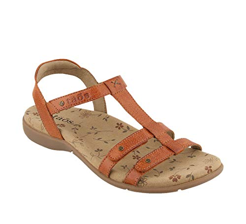Taos Footwear Women's Trophy 2 Brick Sandal 6 M US