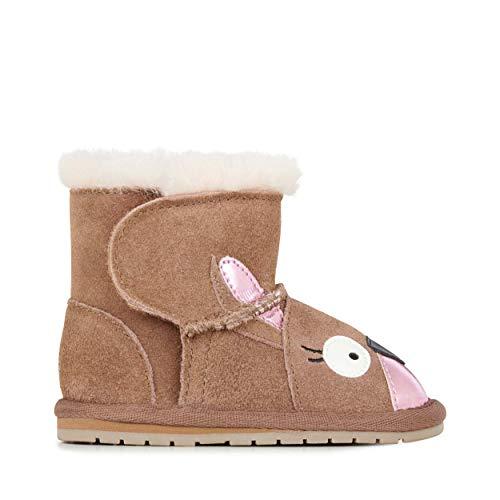 EMU Australia Babies Kanga Walker Deluxe Wool Boots Size 18M - Emu Baby Bootie
