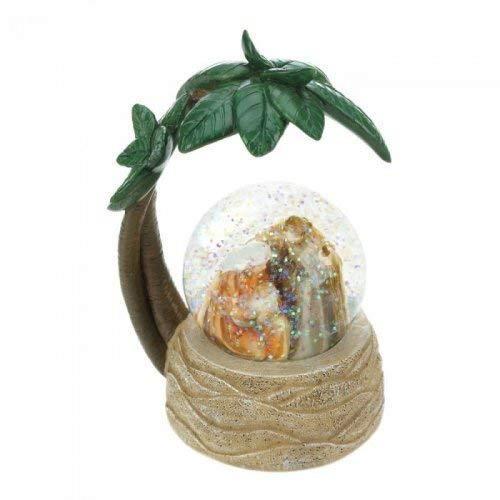 Scene Nativity Snowglobe (Christmas Collection 10018566 Nativity Scene Snow Globe Multicolor)