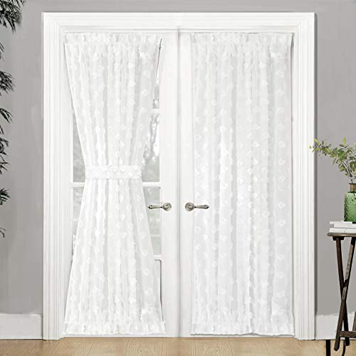 lace curtains for french doors - 7