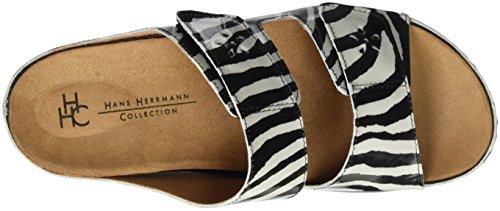 donna neri Hhc Herrmann Hans Collezione da Zoccoli zebra qXYpSnxn