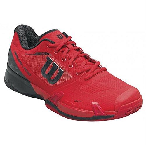 Wilson Wrs322180e085, Chaussures de Tennis Homme, Rouge (Rojo High Risk Red / Black / Barbados Cherry), 42 2/3 EU